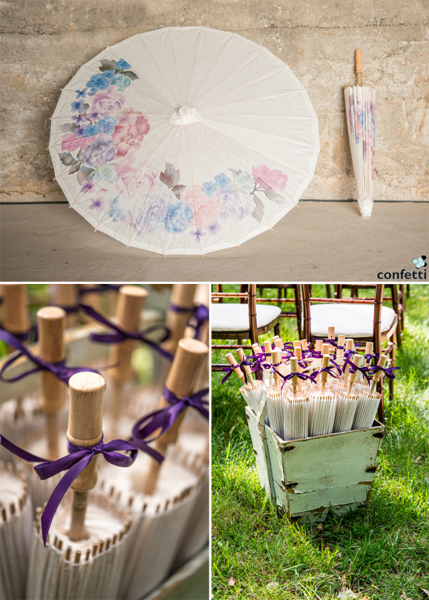 Vintage Parasols | Confetti.co.uk