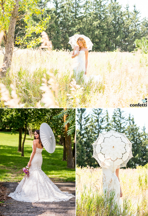 Decorative Parasols | Confetti.co.uk
