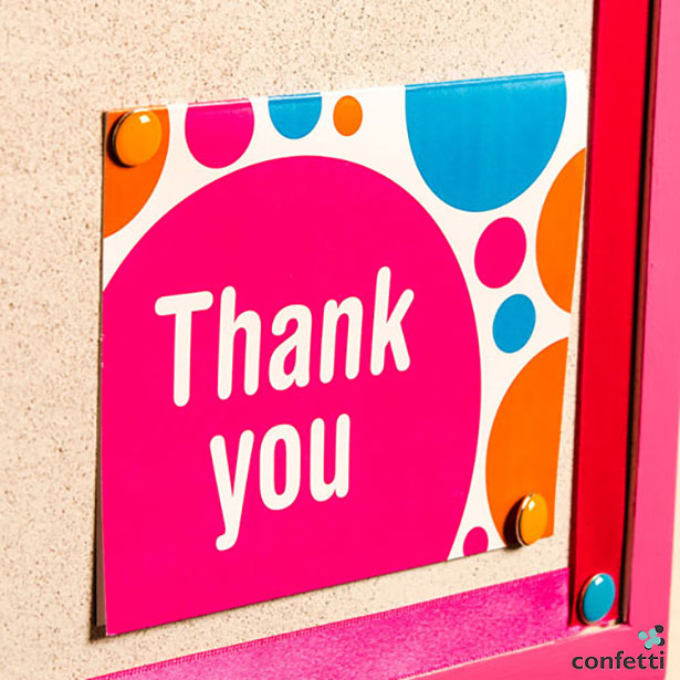 Thank-you card | Confetti.co.uk