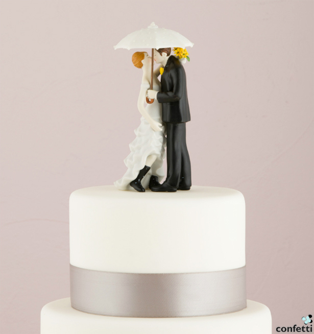 Umbrella Cake Topper | Confetti.co.uk