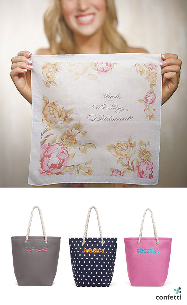 Gifts for Bridesmaids Tea Party | Confetti.co.uk
