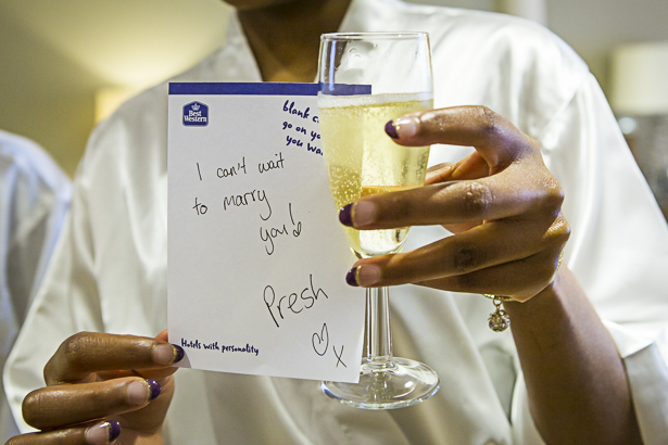 A message from the groom to the bride | I can't wait to marry you | Sweet wedding moments to capture | Precious and Jerald's real wedding | Confetti.co.uk