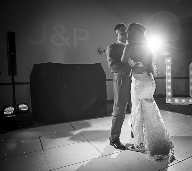 The bride and groom on the dance floor | Precious and Jerald's real wedding | Confetti.co.uk
