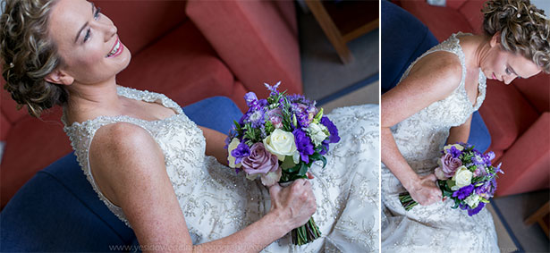 The bride ready for her big day Marina and Gary's lavender real wedding | Yes I do! Algarve Wedding Photography | Confetti.fo.uk