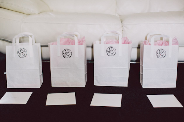 Bridesmaids gift bags | 12 Ways To Make Your Bridemaids Feel Special