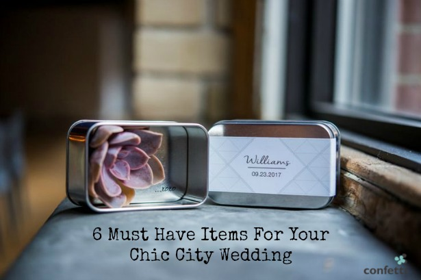 6 Must Have Items For Your Chic City Wedding | Confetti.co.uk