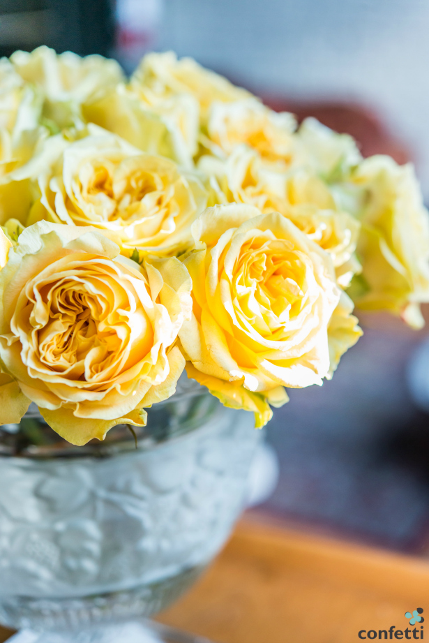 Fresh flowers as a wedding gift for your bride | Confetti.co.uk