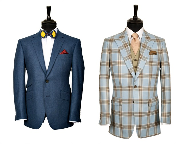 King and Allen modern bespoke suits