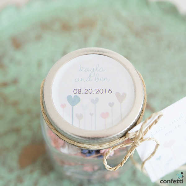 Potpourri Mini Mason Jar Favour | Confetti.co.uk