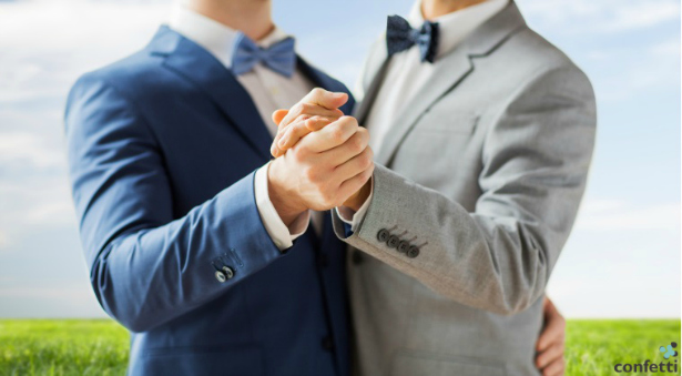 Gay Wedding Name Change Convention | Confetti.co.uk