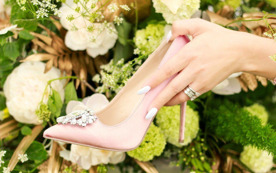 pink paradox london wedding shoes