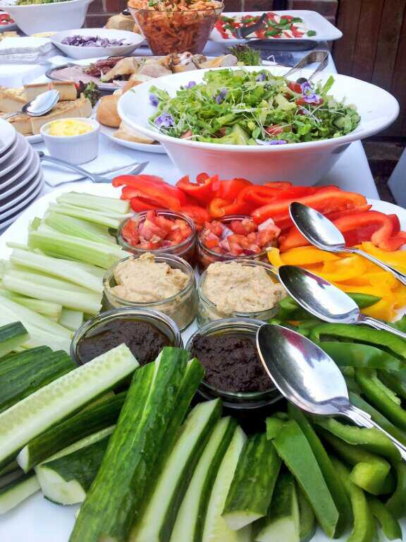 Fill your guests with lots of veggies!