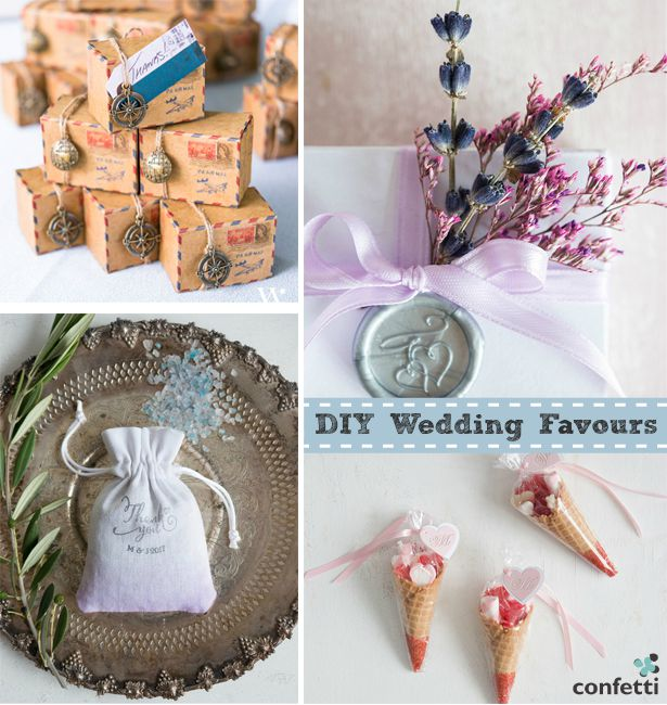DIY Wedding favours | Confetti.co.uk