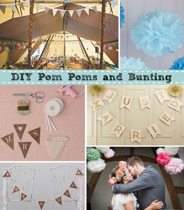 DIY Pom Poms & Bunting | Confetti.co.uk