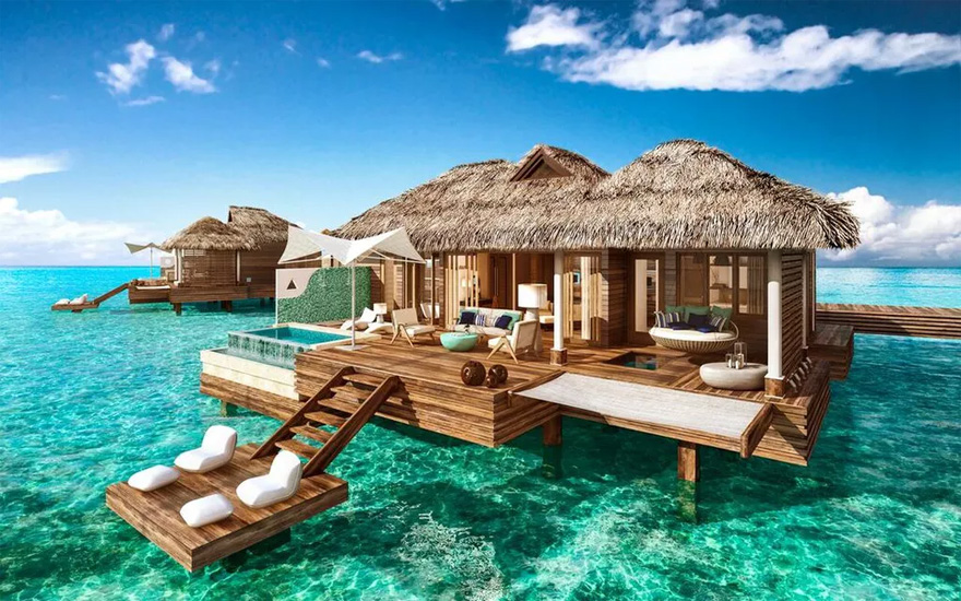 Luxurious New Over-the-Water Villas Make the Ultimate Caribbean Honeymoon | Confetti.co.uk