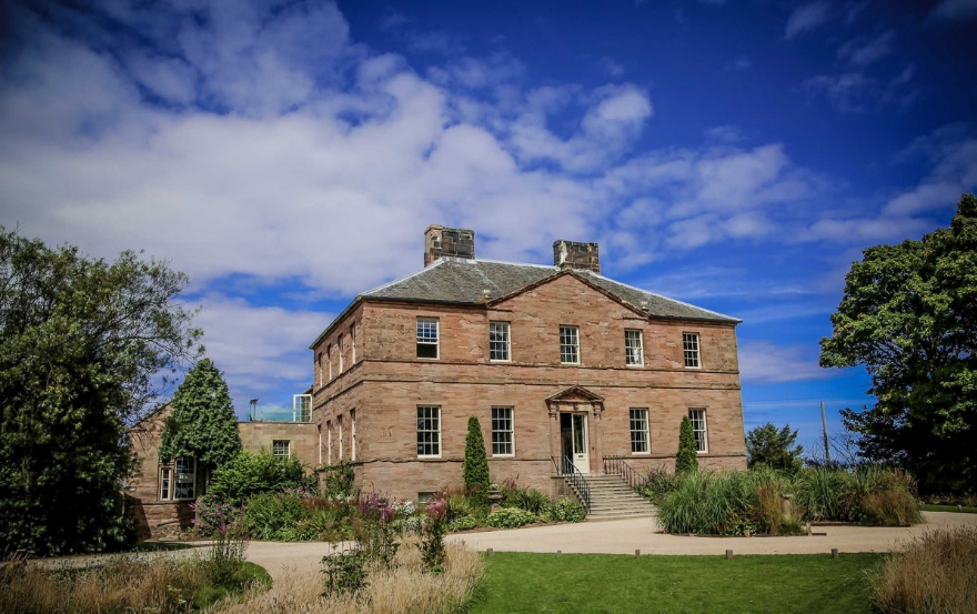 Northumberland wedding venue Newton Hall