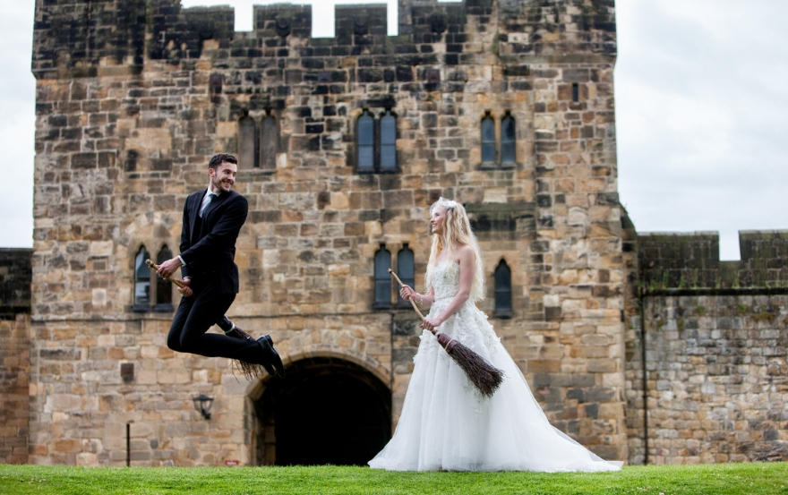 Northumberland wedding venue Alnwick Castle