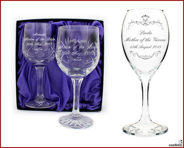 Personalised Wine Glasses | Confetti.co.uk