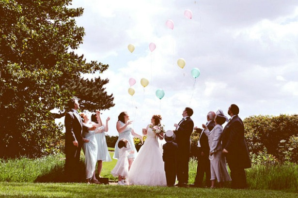 Black and White Photo balloons | Confetti.co.uk