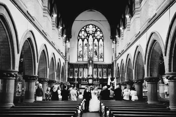 Church ceremony by Black and White Photo | Confetti.co.uk