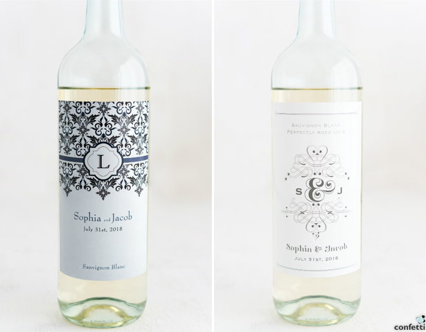 Personalised Wine Bottle Labels | Confetti.co.uk