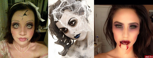 Halloween themed make up ideas