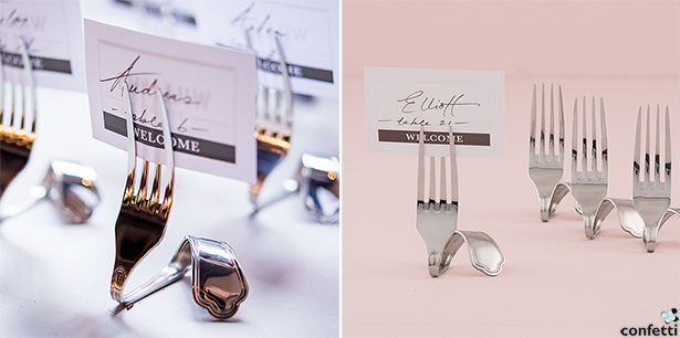 Industrial City Wedding Place Card Holders   Confetti.co.uk