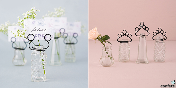 Classic Wedding Place Card Holders   Confetti.co.uk