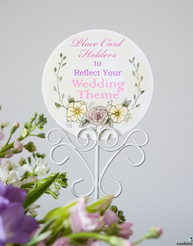 Place Card Holders to Reflect Your Theme   Confetti.co.uk