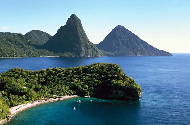Take in the stunning St Lucia backdrop on an active honeymoon   Confetti.co.uk