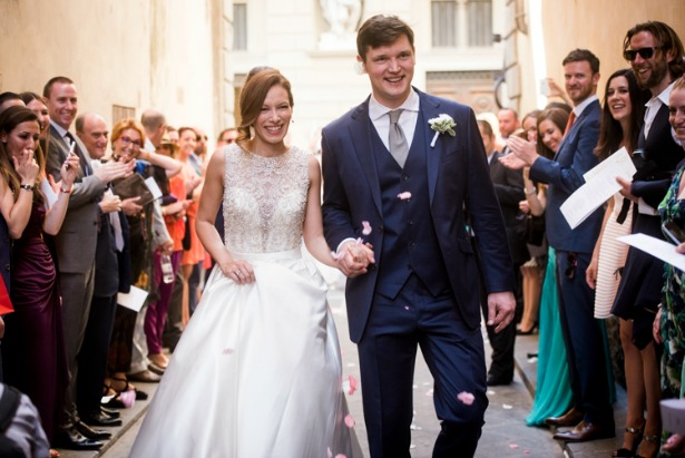 Toby and Fernanda's real wedding | Confetti.co.uk
