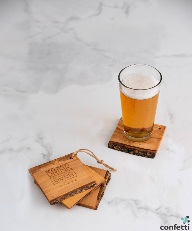Something for the man who has it all - these quirky coasters are set to be must-have gifts for the groom! | Confetti.co.uk