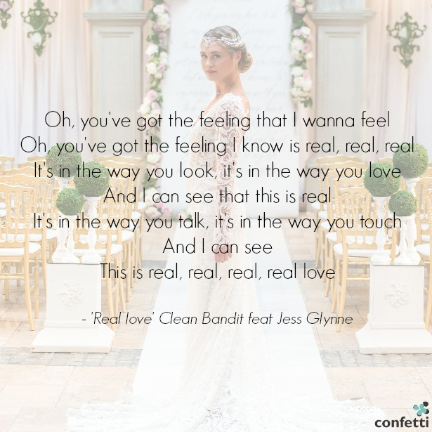 'Real Love' Clean Bandit feat Jess Glynne | Confetti.co.uk