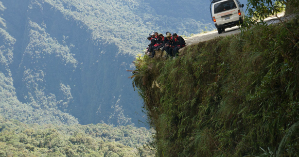 Cycle down the world's most dangerous road on a mountain honeymoon in Bolivia | Confetti.co.uk