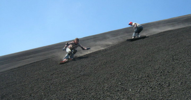 Race down the face of an active volcano on this action-packed mountain honeymoon in Nicaragua | Confetti.co.uk