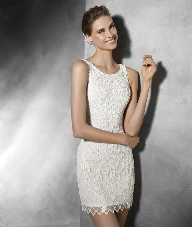 Mini Wedding Dress by Pronovias