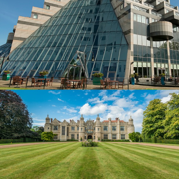 Two very different wedding venues | Confetti.co.uk