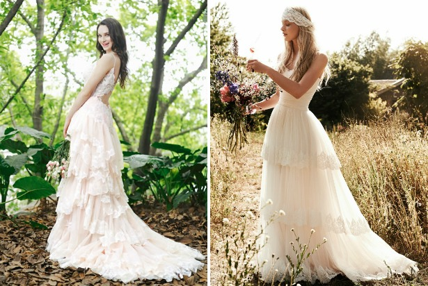 Tiered Skirt Wedding Dresses | Confetti.co.uk