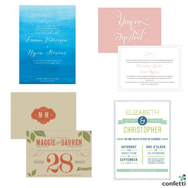 When to Send Your Wedding Stationery | Confetti.co.uk