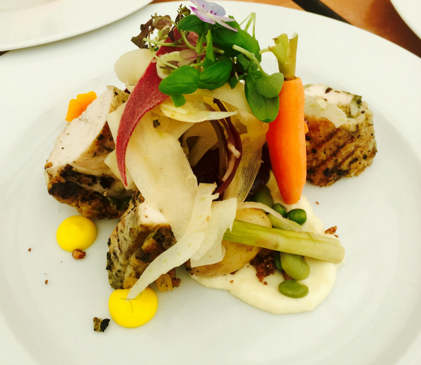 Chicken Salad from Beale's Gourmeet at The Italian Villa | Confetti.co.uk
