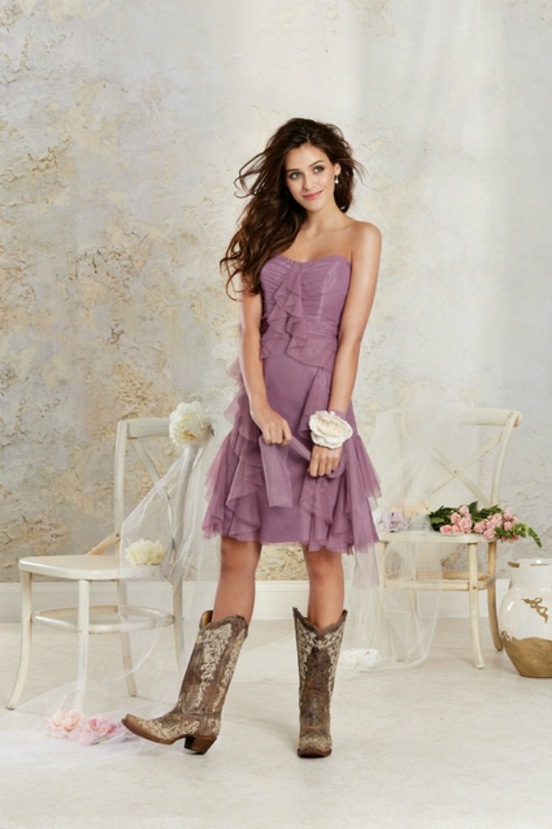 Bridesmaid dress by Alfred Angelo