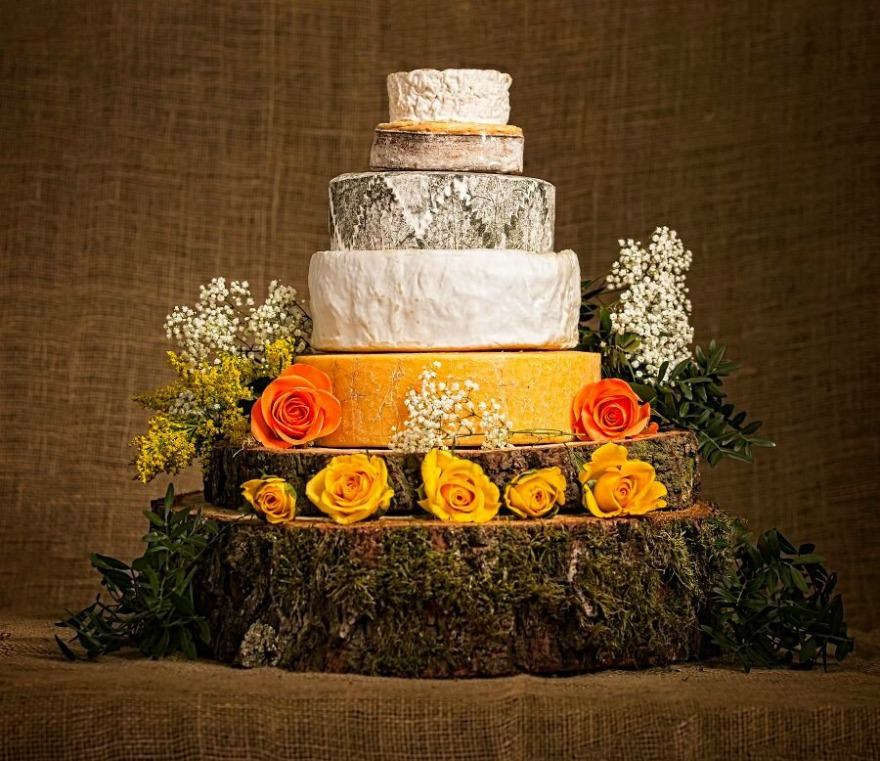 Cheese wedding cake by Cotswold Cheese Company | Confetti.co.uk