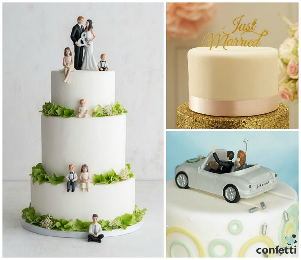 Cake toppers | Confetti.co.uk