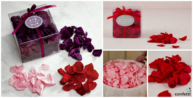 Preserved natural rose petal confetti | Confetti.co.uk