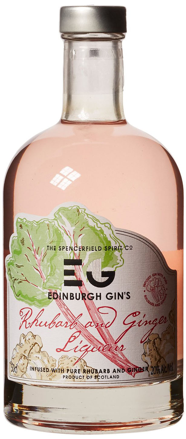Edinburgh Gin - Rhubarb and Ginger