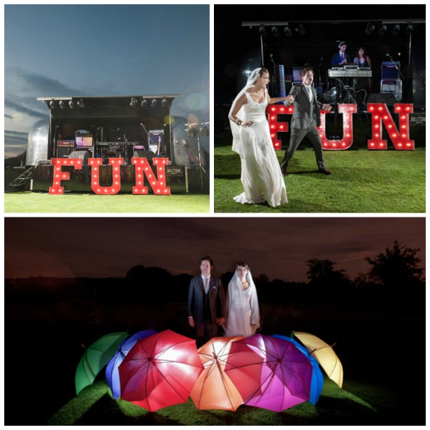 Lucy and Adam's real funfair wedding | Confetti.co.uk