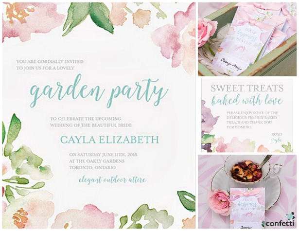 Garden Party invitation | Confetti.co.uk