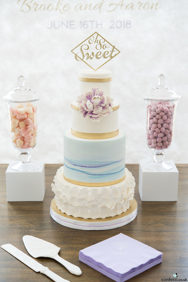 Spring and Summer Wedding Cake Inspiration - Pastel Wedding Cake | Confetti.co.uk