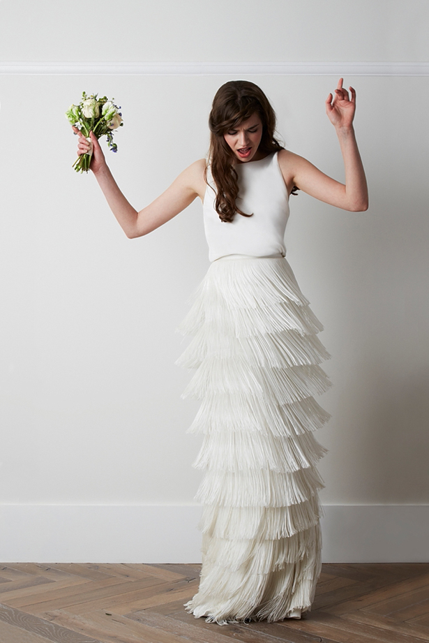 Wedding Dresses with Fringe | Confetti.co.uk