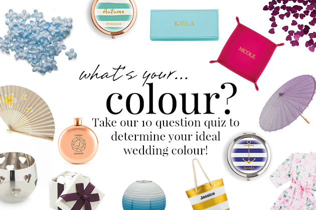 What's your wedding colour? Take our 10 question quiz to find out! | Confetti.co.uk